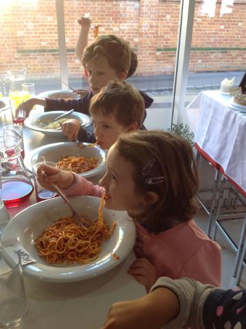 Spaghetti Making